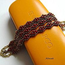 Náramky - Korálkový náramok Dračie šupiny - 4807364_