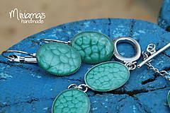 Sady šperkov - Tyrkysová vznešenosť - sada ovál - 4804454_