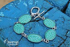 Sady šperkov - Tyrkysová vznešenosť - sada ovál - 4804456_