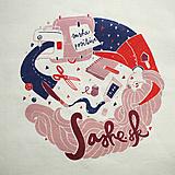 Nákupné tašky - SAShe positive taška - 4804097_