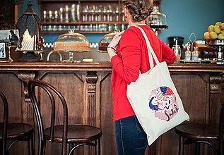 Nákupné tašky - SAShe positive taška - 4804096_