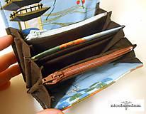 Peňaženky - Peněženka harmonika malá - 13x10cm - 4806341_