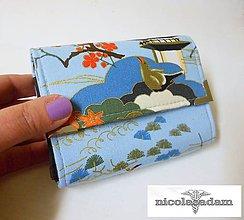 Peňaženky - Peněženka harmonika malá - 13x10cm - 4806828_