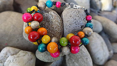 Náramky - Summer fresh fruits 3 - náramok - 4805400_