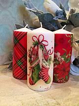 Svietidlá a sviečky - Vianočné trio - 4803734_