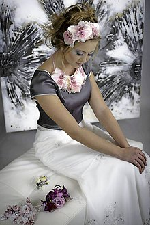 Náhrdelníky - AKCIA náhrdelník by michelle flowers - 4808032_