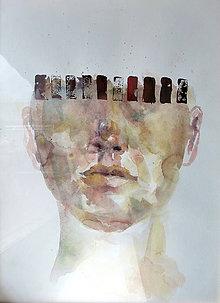 Obrazy - Anonym - akvarel - 4810193_