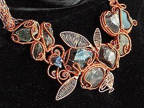 Sady šperkov - Kvitnúca meďou - 4808421_