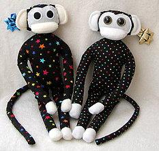 Hračky - opička hviezdička - 4812222_