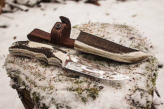 Nože - Poľovnícky nôž-šikovné ruky ocina - 4809718_