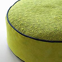 Úžitkový textil - Sedák v jarní zelené - 4809510_