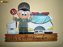 Menovka - policajt