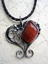 Náhrdelníky - Býčie srdce - 4808335_