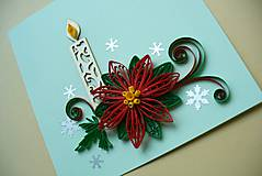 Papiernictvo - vianočná hviezda 3D - 4809585_