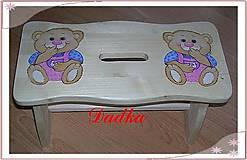 Nábytok - Šamlík medvedíkovy - 4811401_