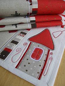 Úžitkový textil - Vianočné prestieranie No.10 :) - 4812146_