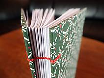 Papiernictvo - Vianočný zápisník - 4815836_