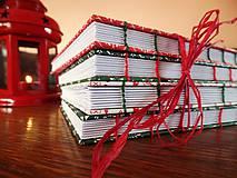 Papiernictvo - Vianočný zápisník - 4815841_