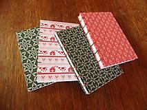 Papiernictvo - Vianočný zápisník - 4815842_