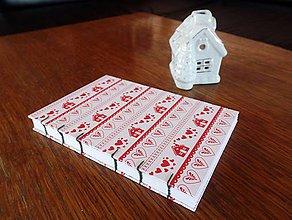 Papiernictvo - Vianočný zápisník - 4815812_