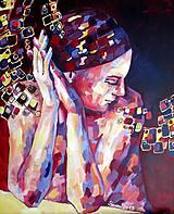 Obrazy - Čistá hlava - čistý stôl - obraz na stenu, maľba, originál - 4815556_