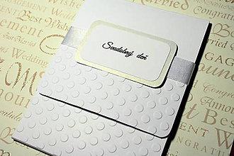 Papiernictvo - Obal na svadobné CD/DVD + fotky - 4818142_