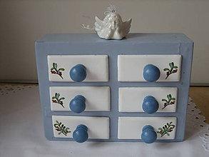 Nábytok - Pôvodné drevené koreničky alebo šuflíčky na drobnosti... - 4816724_