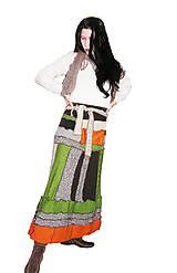 Sukne - maxi sukňa ...nožkohrejka - 4815357_