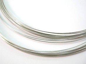 Komponenty - Ocelový pamäťový drôt - náhrdelník - 4814682_