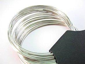 Komponenty - Ocelový pamäťový drôt - náramok - 4814705_