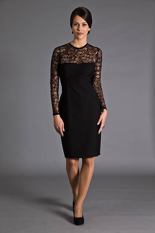 Šaty s čipkou   MiraMarce - SAShE.sk - Handmade Šaty 428aa1d42e2