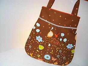 Veľké tašky - Lúčne kvety - 4816532_