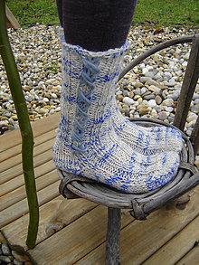 Obuv - Ponožky = krížik pomlčka - 4822789_