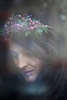 Ozdoby do vlasov - Víla JANA KIRSCHNER by Hogo Fogo - 4820695_