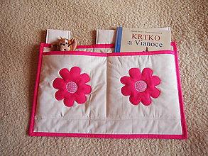 Textil - Vreckár   kvietok - 4818505_