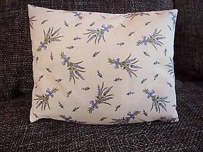 Úžitkový textil - Levanduľový vankúšik - 4821790_