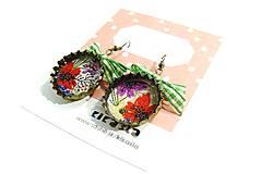 Náušnice - Kvety - 4825063_