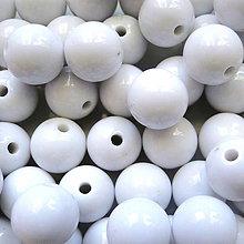Korálky - Korálky COLOR plast 12mm-1ks - 4826694_