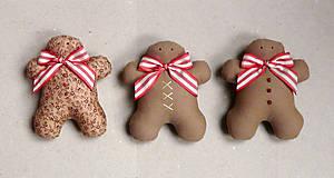 Dekorácie - perníkové Vianoce - 4824211_
