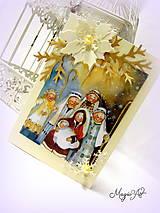 Papiernictvo - Vinšujeme vám, vinšujeme Krista Pána narodenie! - 4823512_