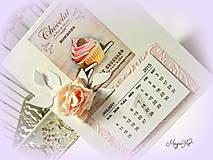 Papiernictvo - Nech je celý tvoj rok plný sladkých dní! - 4823580_