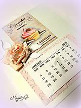 Papiernictvo - Nech je celý tvoj rok plný sladkých dní! - 4823588_