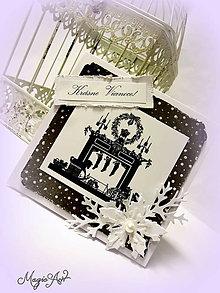 Papiernictvo - Black white Christmas - 4823357_