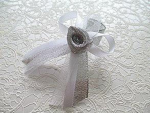 Pierka - strieborné svadobné pierka - 4824592_