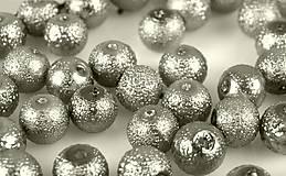 Voskované perly Ø 12mm vrúbkované