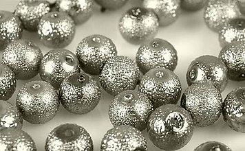Korálky - Voskované perly Ø 12mm vrúbkované - 4825116_