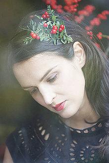 Ozdoby do vlasov - JARABINA for JANA KIRSCHNER by Hogo Fogo - 4825000_