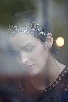Ozdoby do vlasov - QUEEN JANA KIRSCHNER by Hogo Fogo - 4825016_