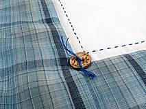 Úžitkový textil - Obliečka na vankúš Sob modrý - 4825686_