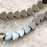 Minerály - Hematit-srdce 4mm-1ks - 4829442_